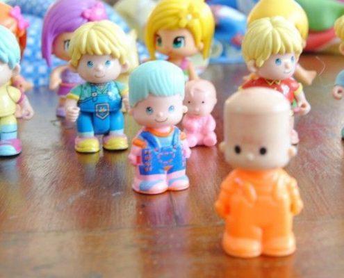 Familia de muñecos