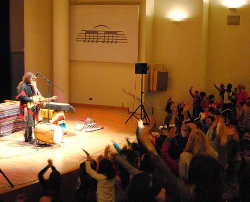 Concierto para escolares Palau de la Musica de Valencia