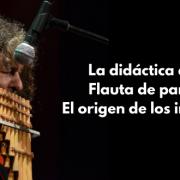 Sikus flauta de pan andina